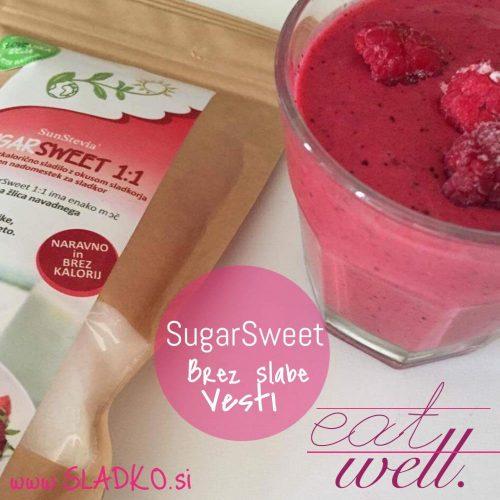 Manjša količina sladkorja - SugarSweet