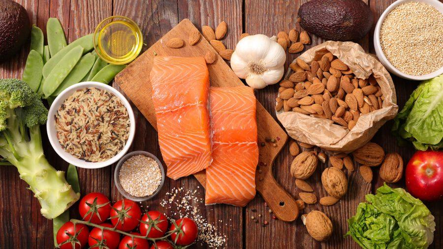 Zdrava hrana proti vnetju.