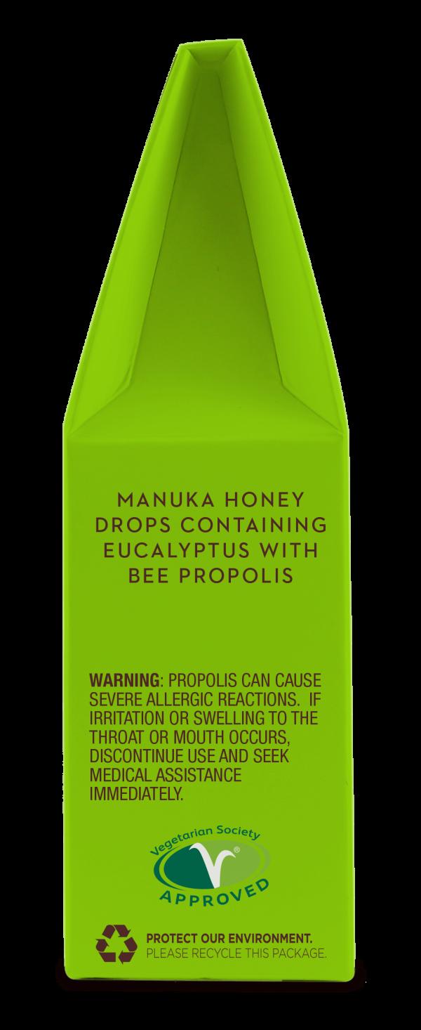 100% naravne Manuka medene pastile z evkaliptusom in propolisom - 3