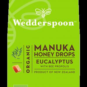 100% naravne Manuka medene pastile z evkaliptusom in propolisom