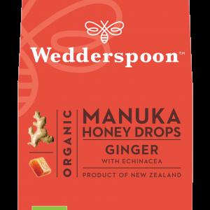 100% naravne Manuka pastile iz medu z ingverjem in ameriškim slamnikom