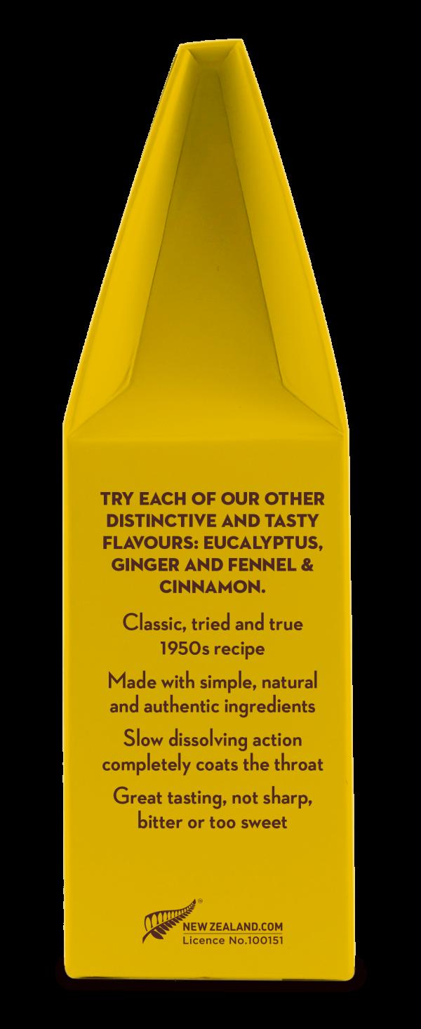 100% naravne Manuka pastile z limono in propolisom - 2