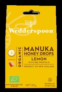 100% naravne Manuka pastile z limono in propolisom