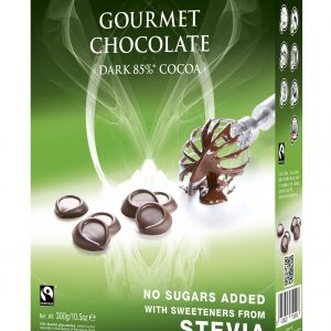 Zdrava jedilna čokolada - Cavalier kapljice temna čokolada 85% - čokolada za peko
