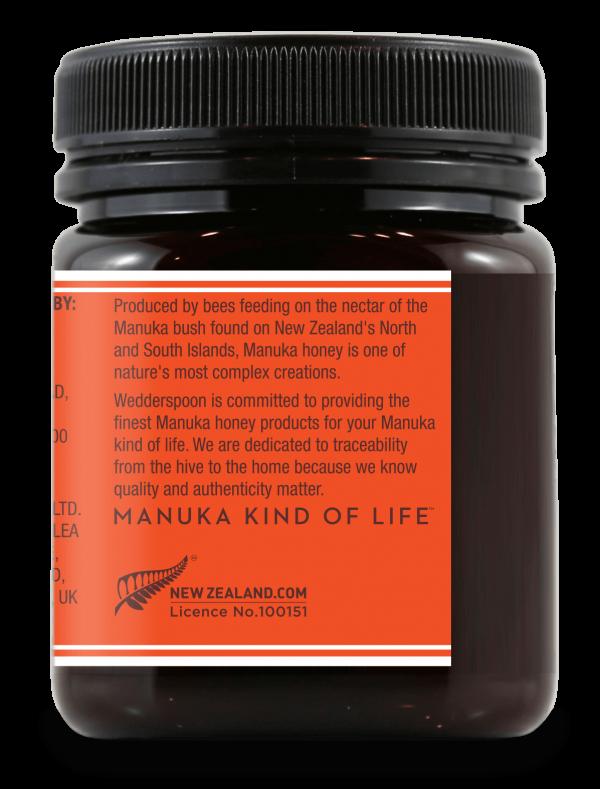 Wedderspoon KFactor™ 16 - surovi Manuka med s 75% cvetnega prahu od manuke 250 g - 3