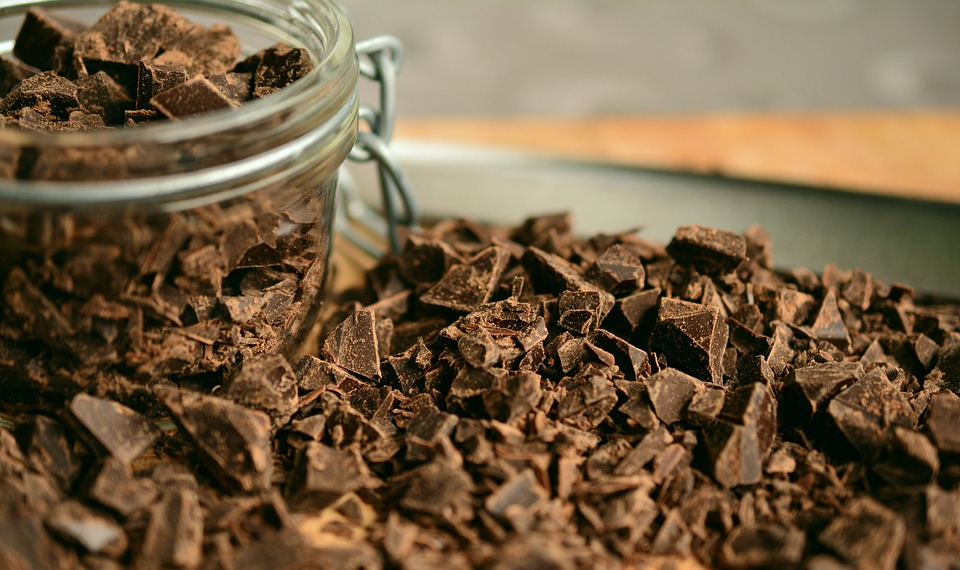 Temna čokolada je vir anitoksidantov.