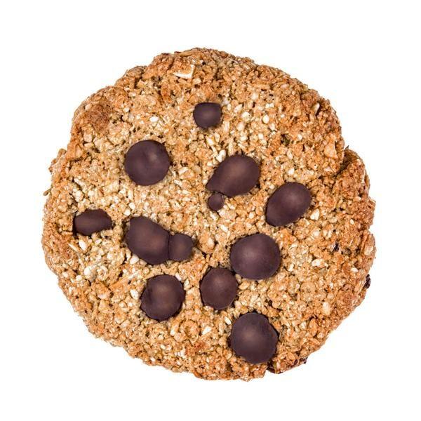 Kookie Cat piškot z vanilijo in koščki čokolade, ekološki piškot, gluten free