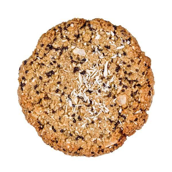 Kookie Cat piškot s chia semeni in limono, ekološki piškot, brez glutena