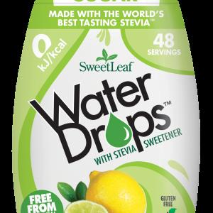 Naravno sladilo za vodo s stevijo - SweetLeaf Water Drops - naraven okus - limona -limeta