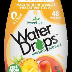 Sweetleaf Water Drops Naravno sladilo za vodo s stevijo - SweetLeaf Water Drops - naraven okus - tropski-sadeži