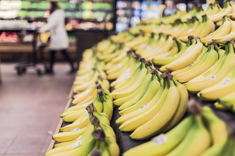 banane v trgovini
