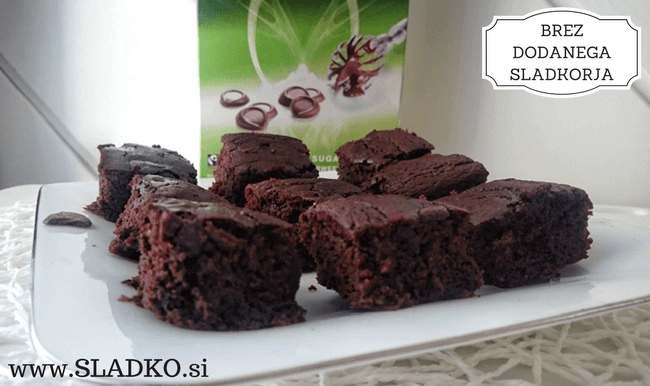 Čičerikini browniji brez moke