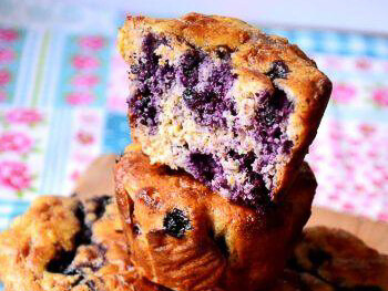 Borovničevi muffini