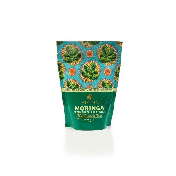 Aduna Moringa v prahu - ekološka 275 g