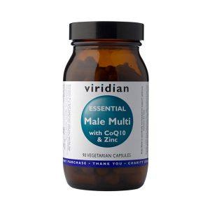 Esencialni moški vitamini s cinkom in CoQ10