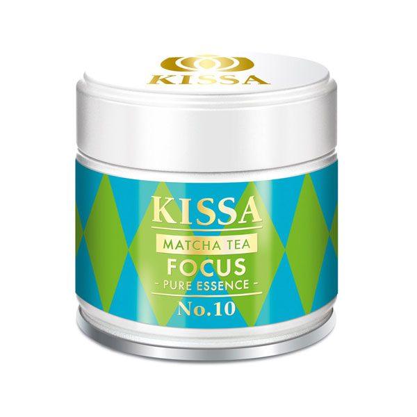 Kissa Matcha fokus - 100% japonski zeleni čaj v prahu eko 30 g