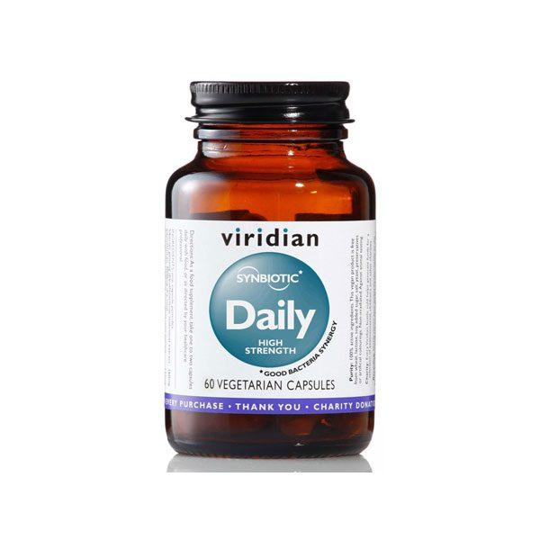 Probiotiki Dnevna simbioza, močnejši Viridian