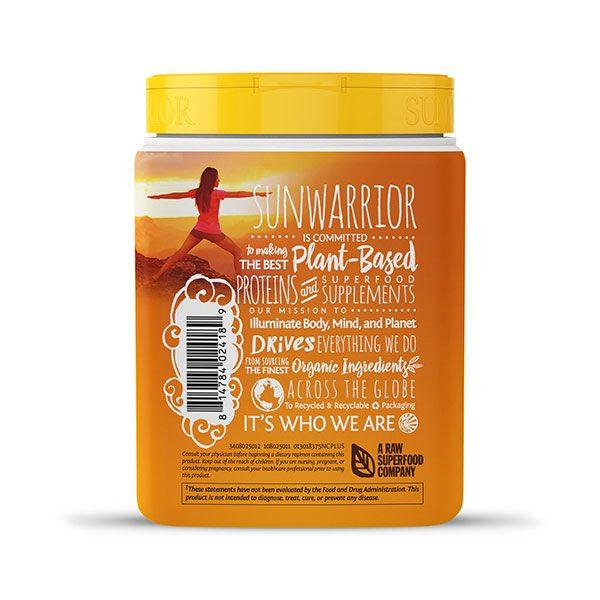 Sunwarrior Classic PLUS rastlinski proteini - Naravni 375 g - 2