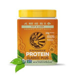Sunwarrior Classic PLUS rastlinski proteini - Naravni 375 g
