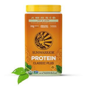 Sunwarrior Classic PLUS rastlinski proteini - Naravni 750 g
