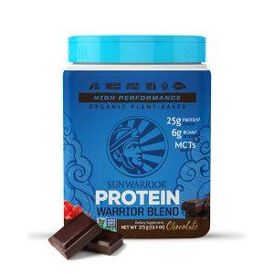 Sunwarrior Warrior Blend rastlinski proteini - Čokolada 375 g
