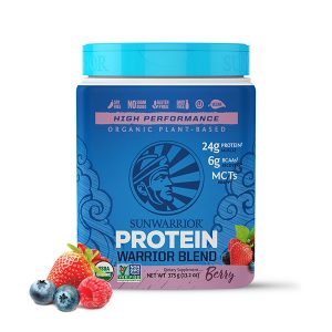 Sunwarrior Warrior Blend rastlinski proteini - Jagodičevje 375 g
