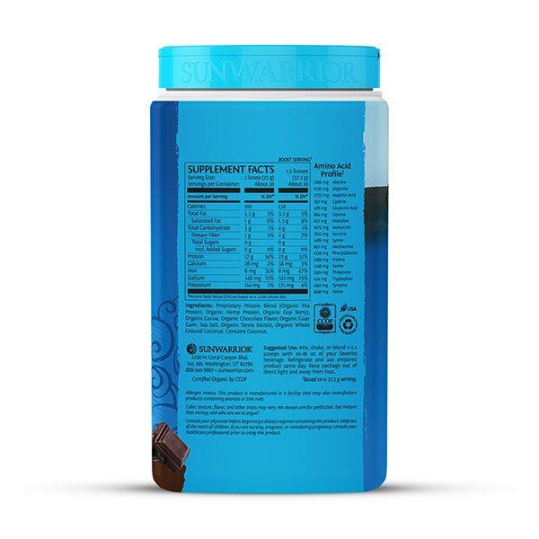 Sunwarrior Warrior Blend rastlinski proteini - Mocha 750 g - 2