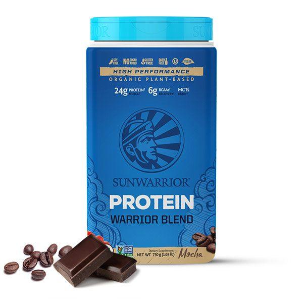 Sunwarrior Warrior Blend rastlinski proteini - Mocha 750 g
