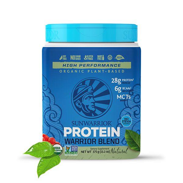 Sunwarrior Warrior Blend rastlinski proteini - Naravni 375 g