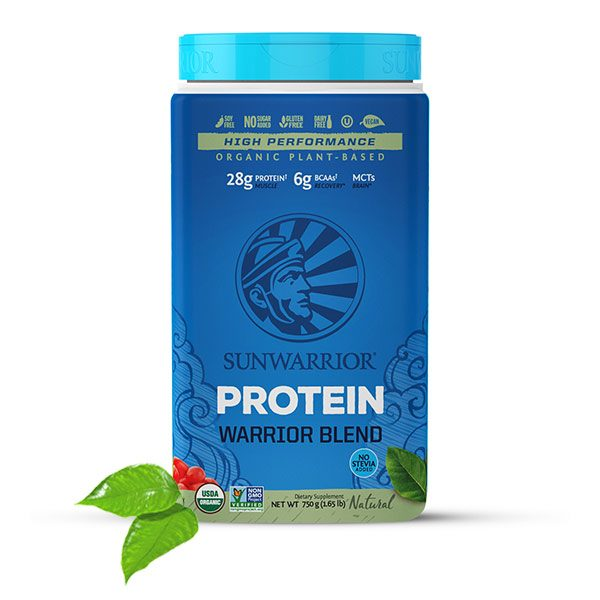 Sunwarrior Warrior Blend rastlinski proteini - Naravni 750 g