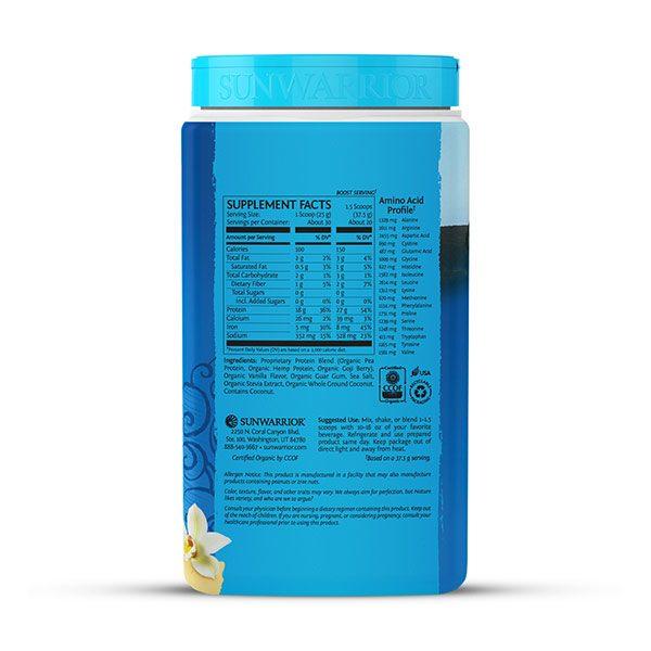 Sunwarrior Warrior Blend rastlinski proteini - Vanilija 750 g - 2