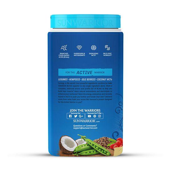 Sunwarrior Warrior Blend rastlinski proteini - Vanilija 750 g - 3