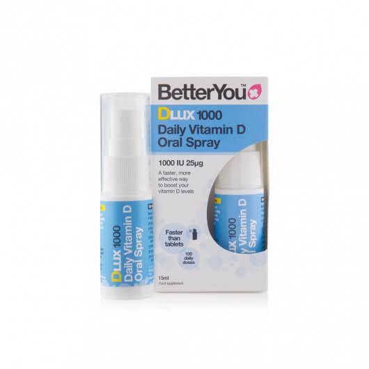 Vitamin D v spreju DLux 1000 BetterYou