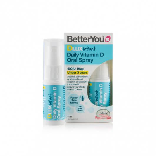 Vitamin D za otroke v spreju DLux Infant BetterYou