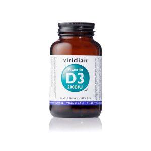 Vitamin D3 Viridian 60 kapsul