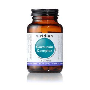 Aktiven kurkumin kompleks Viridian, 30 kapsul