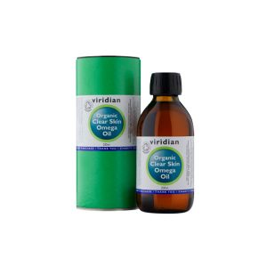 Ekološko omega olje Čista koža Viridian, 200 mL
