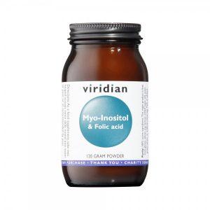 Myo-Inositol s folno kislino Viridian 120 g