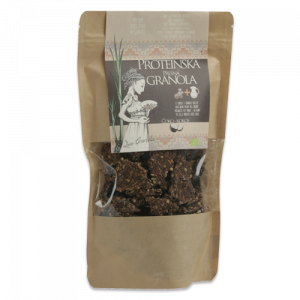 Proteinska presna granola Čoko - kokos, Live Granola Drobtinka, 230 g