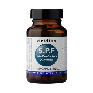 S.P.F. pro-faktorji s SOD in astaksantinom Virdian 30 kapsul