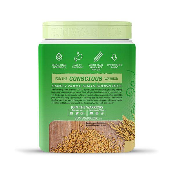 Sunwarrior Classic rastlinski proteini - Vanilija 375 g - 3