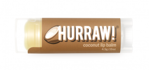 Balzam za ustnice Hurraw Kokos, 4,3 g