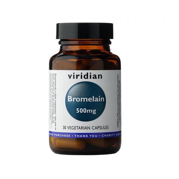 Bromelain Viridian - 500 mg - 30 kapsul