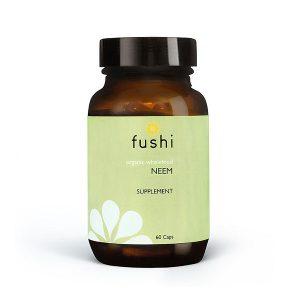 Ekološki neem Fushi, 60 kapsul