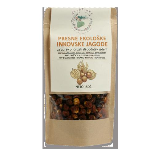 Inkovske jagode Drobtinka - presne, ekološke, 150 g