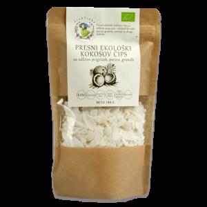 Kokosov čips Drobtinka - presni, ekološki, 180 g