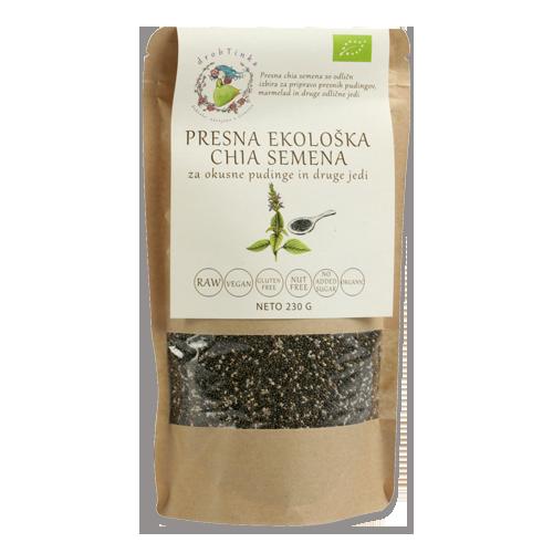Presna ekološka chia semena, 230 g