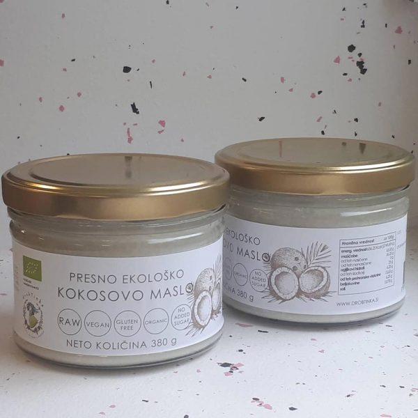 Presno ekološko kokosovo maslo