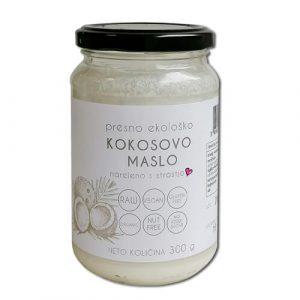 Presno ekološko kokosovo maslo Drobtinka
