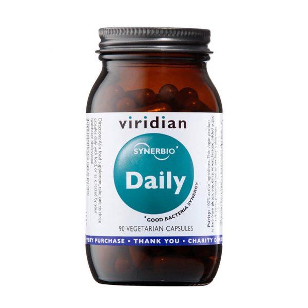 Probiotiki dnevna simbioza Daily Viridian, 90 kapsul